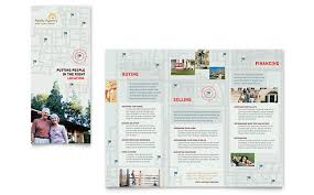 real estate brochure templates luxury home real estate flyer