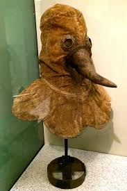 real plague doctor mask fighting the black museum of artifacts
