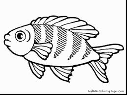 unbelievable coloring pages of fish alphabrainsz net