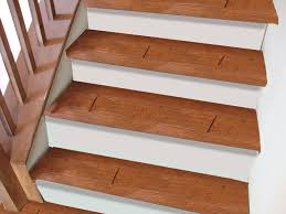 pictures of wood stairs painted risers living family room pinterest paint stairs