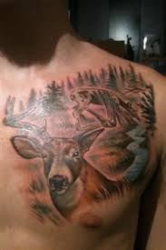 Tattoo Ideas For Hunters Show Us Your Deer Hunting Tattoo Deer Hunting Tattoos Worst