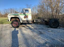 Ford Vintage Truck - lincoln engine 1957 ford f 800 cab and chassis vintage truck for sale