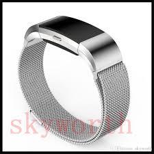 mesh steel bracelet images Magnetic milanese loop metal for fitbit charge 2 alta hr blaze jpg