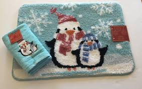 Christmas Bathroom Rugs Decorative Bath Towels And Rugs Best Bathroom Decoration