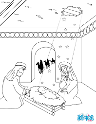 cat with santa hat coloring pages hellokids com