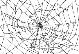 Free Printable Spider Coloring Pages For Kids Cool2bkids Spider Web Coloring Page