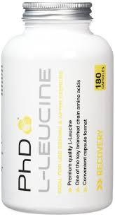 amazon com phd nutrition l leucine 180 capsule health u0026 personal