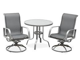 Aluminum Patio Chairs by Tribeca Sling Aluminum Patio Furniture Patio Furniture Sling Back
