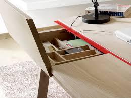 Modern Oak Desk Minimalist Solid Oak Desk With Plenty Of Storage Space By Samuel