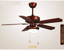 Retro Ceiling Fans by Aliexpress Com Buy Led Light Wooden Leaf Retro Ceiling Fans