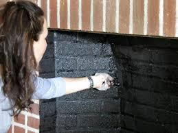 painted brick fireplace makeover how tos diy