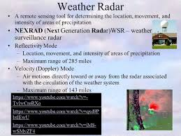 weather radar table rock lake chapter 7 clouds precipitation and weather radar ppt download