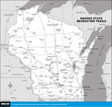 Ice Age Map North America by Printable Travel Maps Of Wisconsin Moon Travel Guides