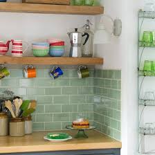 kitchens with shelves green all about ceramic subway tile google images kitchens and glazed tiles