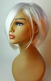 images short stacked a line bob short a line platinum blonde wig stacked a line bob short