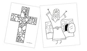 easter church coloring pages u2013 color bros