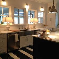 Black And White Striped Kitchen Rug Striped Kitchen Sink Rug Design Ideas