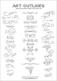 set of swashes swirls page 46 original