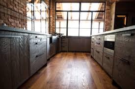white oak wood classic blue madison door barn kitchen cabinets