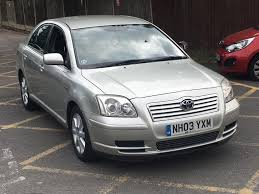 cheap toyota toyota avensis d4d 2003 uk cheap used cars