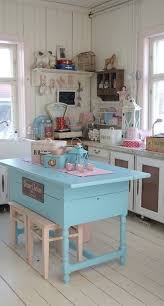 pastel kitchen ideas cheap vintage shabby chic style kitchen design and decorating
