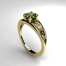 peridot engagement rings shop vintage peridot engagement ring on wanelo