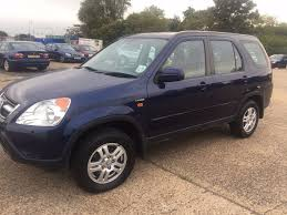 honda crv 2002 manual petrol starts and drive good engine and gear