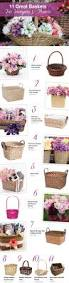 wicker basket with leather handles 92 best gifting baskets boxes u0026 hampers images on pinterest