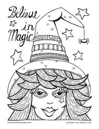 272 witch coloring images coloring books