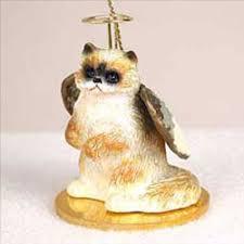 ragdoll cat ornaments by yuckles