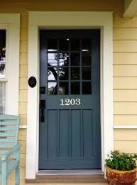 Exterior Door Paint Ideas Colored Front Doors Best 25 Front Door Paint Colors Ideas On