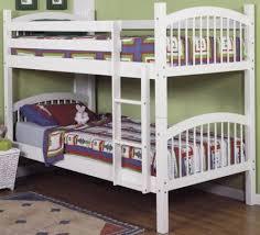 Linon Bunk Bed Linon 9016nwht A Kd U Bunk Bed White Strong Pine