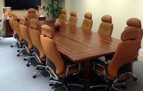 High Top Conference Table Solid Sapele Wood Conference Tables Custom Table