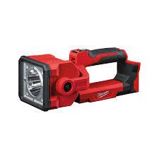 m18 led search light m18 sled milwaukee tools