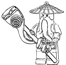 ninjago coloring pages sensei wu cartoon coloring pages of