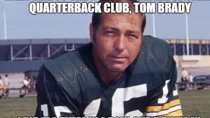 Funny Tom Brady Memes - someone created a hilarious bart starr and tom brady meme 12up
