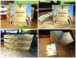 paper crew mini golden book baby shower invitation