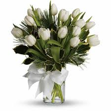 white tulips white tulips bouquet at send flowers