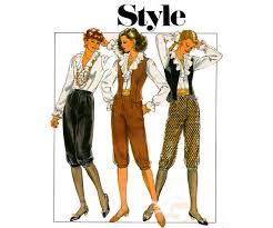 style 3562 womens waistcoat steampunk blouse u0026 knickerbockers