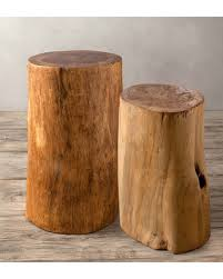 tree stump accent table new savings are here 66 off fir tree trunk accent tables