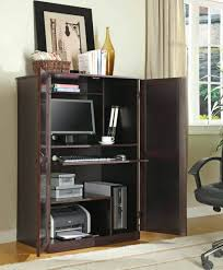 Sauder Computer Desk Cinnamon Cherry by Nursery Armoire White Corner Computer Desk Hanging Wardrobe