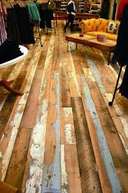 what do you think of this floor reclaimed wood products from