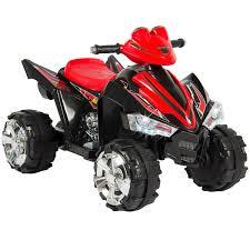 polaris four wheeler atv quad 4 wheeler ride on with 12v battery power review kids
