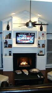 built in electric fireplace center costco electric heater