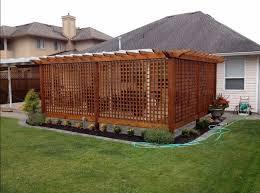 Backyard Ideas For Privacy Innovative Backyard Privacy Fence Ideas Fence Screening Ideas And