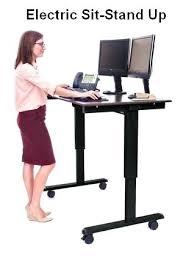 sit stand computer desk u2013 smartfo me