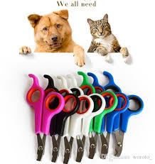 2018 Pet Nail Clippers Stainless Steel Puppy Cat Nails Scissors
