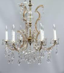 Marie Therese Crystal Chandelier The Vintage Chandelier Companymarie Therese Archives The Vintage