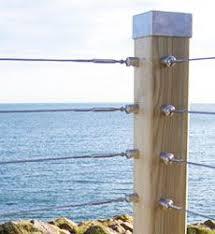 Wire Banister Best 25 Wire Balustrade Ideas On Pinterest Modern Railing