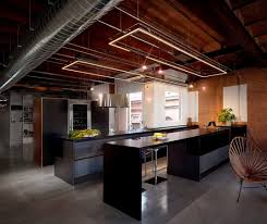 Dark Kitchen Ideas Dark Industrial Kitchen Design With Exhaust Hood Also Black Ebony